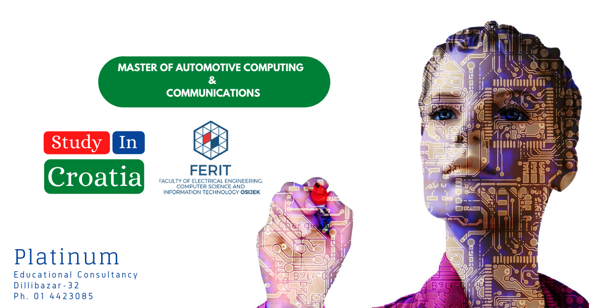 MASTER OF AUTOMOTIVE COMPUTING AND COMMUNICATIONS