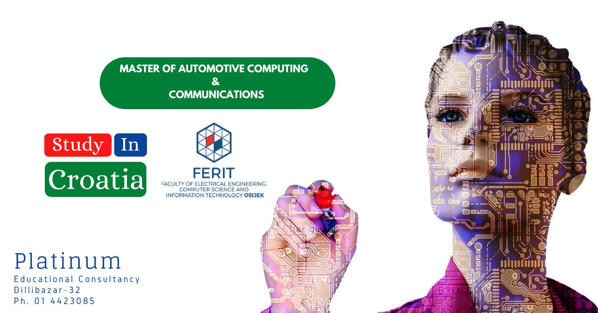 MASTER OF AUTOMOTIVE COMPUTING AND COMMUNICATIONS